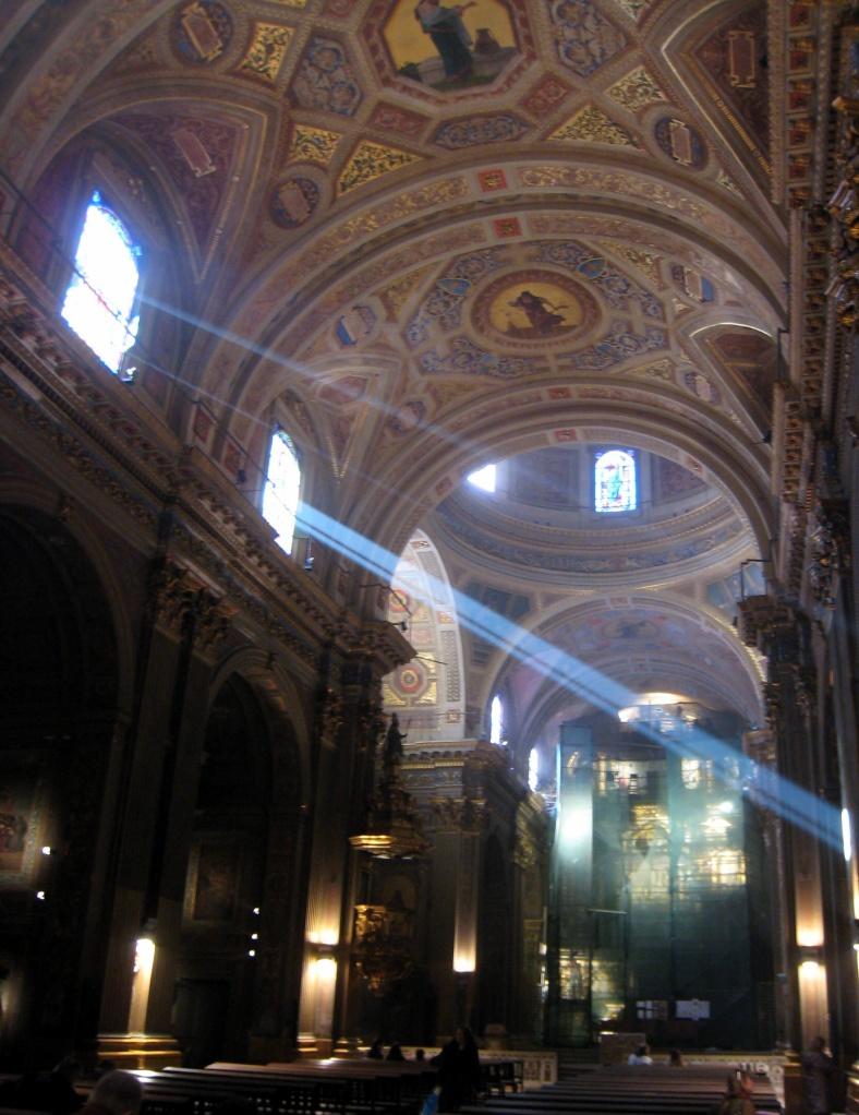 Interior of the Basilica de Nuestra Señora de la Merced by Chance Miller