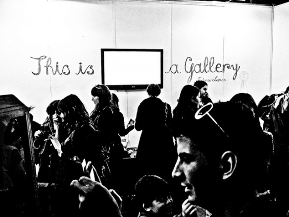 this is not a gallery